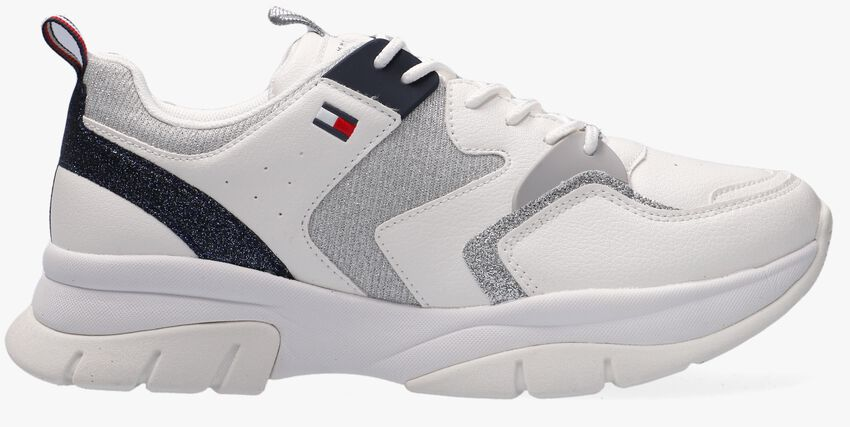 Witte TOMMY HILFIGER Lage sneakers 31034  - larger