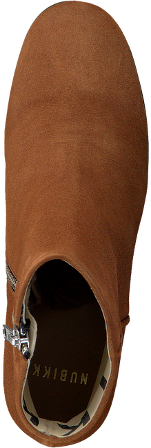 Cognac NUBIKK Enkellaarsjes GIGI ROMA  - large