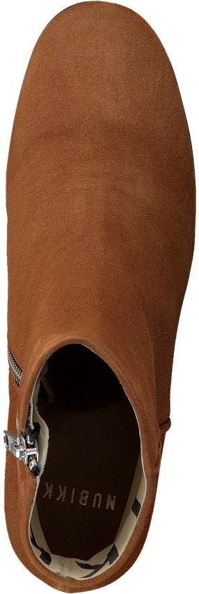 Cognac NUBIKK Enkellaarsjes GIGI ROMA  - larger