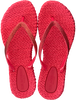 Rode ILSE JACOBSEN Slippers CHEERFUL01 - small