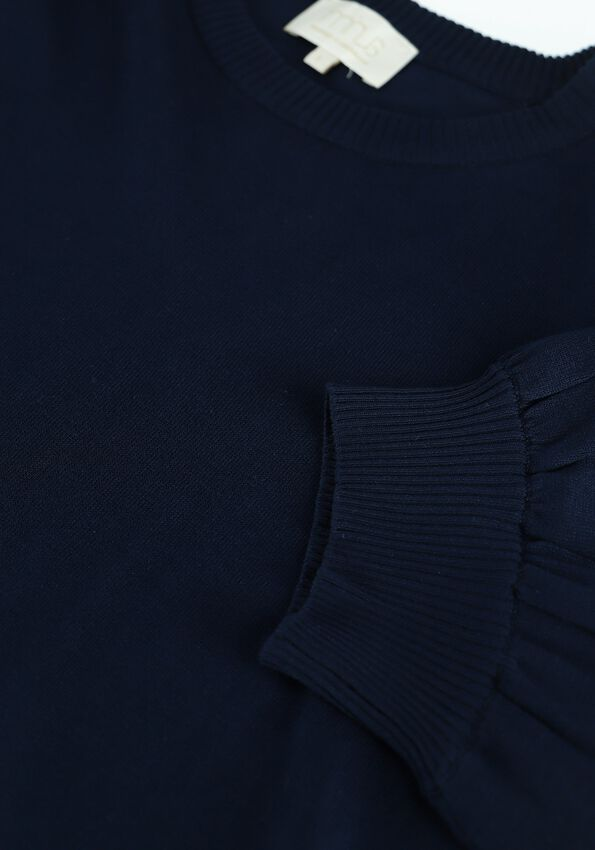 Donkerblauwe MINUS Top LIVA KNIT TEE - larger