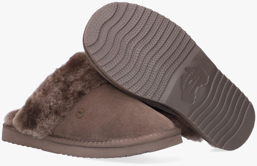 Groene WARMBAT Pantoffels FLURRY  - larger