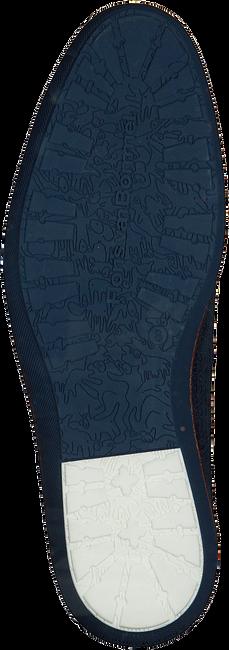 Blauwe FLORIS VAN BOMMEL Veterschoenen 14020  - large