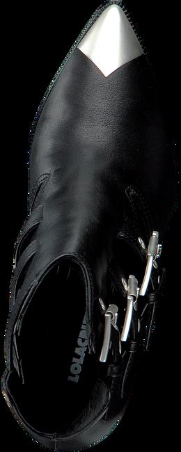Zwarte LOLA CRUZ Enkellaarsjes 294T10BK  - large
