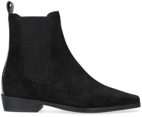 Zwarte SCOTCH & SODA Chelsea boots AMIE  - medium
