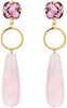 Roze JEWELLERY BY SOPHIE Oorbellen LUXURY EARRINGS - small