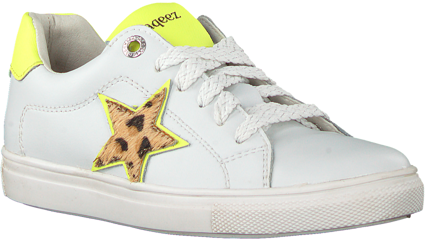 Witte BRAQEEZ Lage sneakers LEIGH LOUWIES  - larger