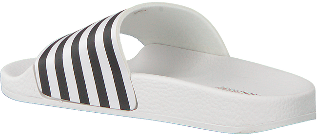 Witte THE WHITE BRAND Slippers STAR WHITE STRIPES  - large