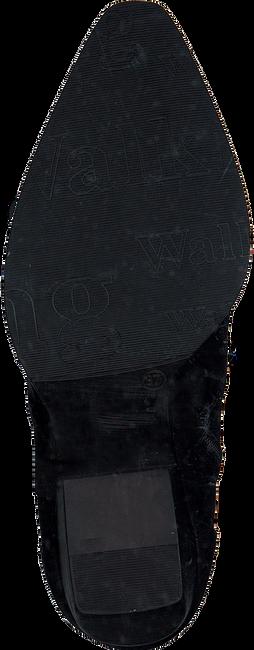 Zwarte VERTON Enkellaarsjes 667-004  - large