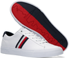 Witte TOMMY HILFIGER Lage sneakers CORPORATE LEATHER - small