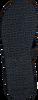 blauwe TOMMY HILFIGER Slippers ELEVATED METALLIC BEACH SANDAL  - small
