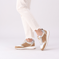 Taupe PIEDI NUDI Sneakers 2507-03  - medium
