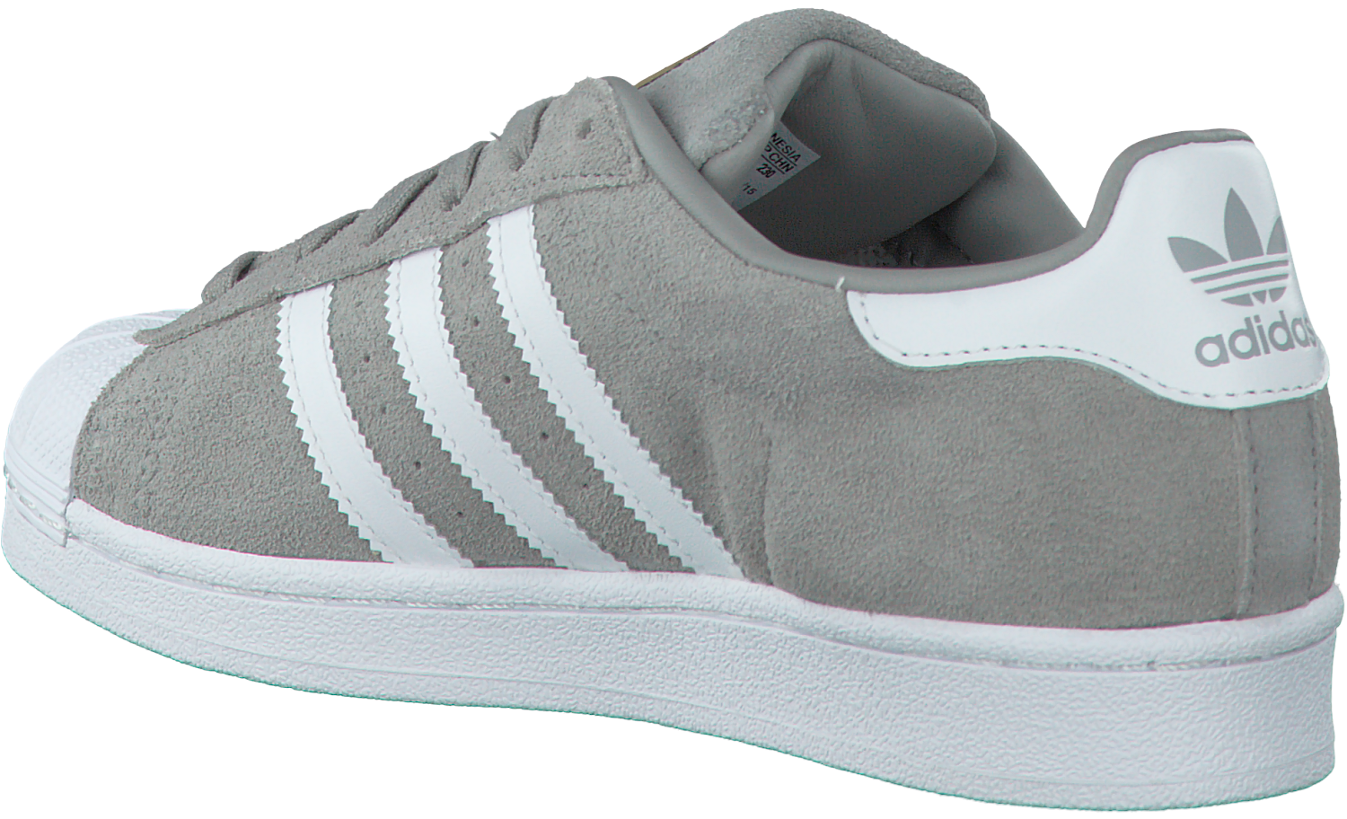 Grijze ADIDAS Sneakers SUPERSTAR DAMES | Omoda