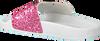 Roze THE WHITE BRAND Slippers GLITTER KIDS - small