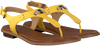 Gele MICHAEL KORS Sandalen MK PLATE THONG  - small