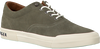 Groene TOMMY HILFIGER Sneakers HERITAGE SUEDE SNEAKER  - small