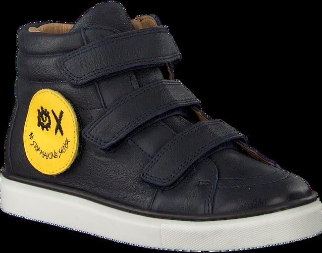 Blauwe SVNTY Sneakers SMILEY - large