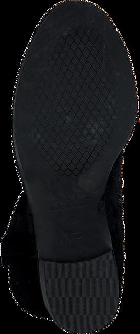 Zwarte GABOR Enkellaarsjes 670.2  - large