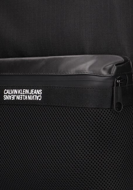 Zwarte CALVIN KLEIN Rugtas GRID CAMPUS  - large