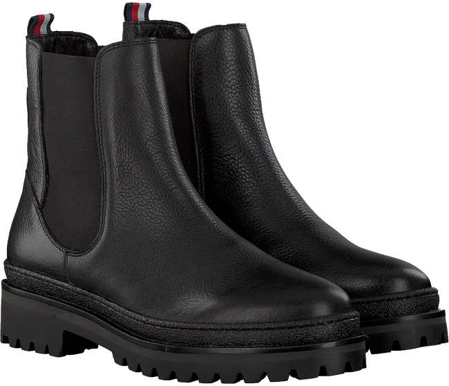Zwarte TOMMY HILFIGER Chelsea boots RUGGED CLASSIC CHELSEA - large