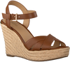 Cognac MICHAEL KORS Sandalen SUZETTE WEDGE  - small
