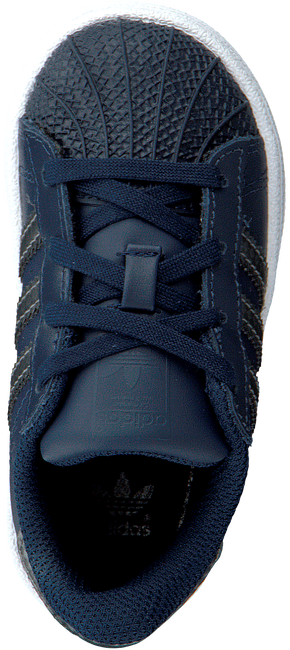 Blauwe ADIDAS Sneakers SUPERSTAR KIDS 1  - large