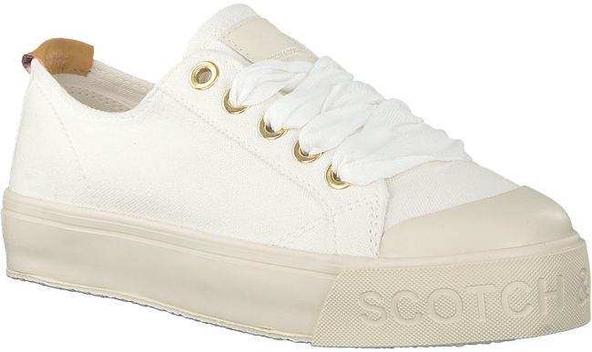 Witte SCOTCH & SODA Sneakers SYLVIE  - large