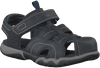 Blauwe TIMBERLAND Sandalen OAK BLUFFS LEATHER FISHERMAN  - small