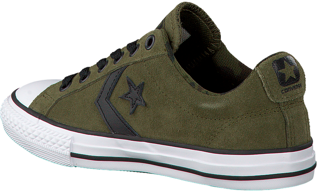 Groene CONVERSE Sneakers STAR PLAYER OX KIDS  - large