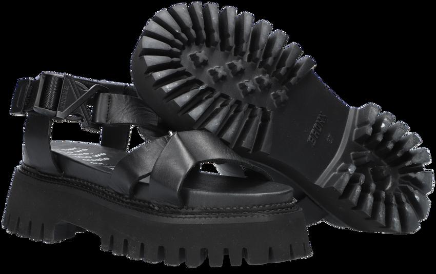 Zwarte BRONX Sandalen GROOVY-SANDAL 84875  - larger