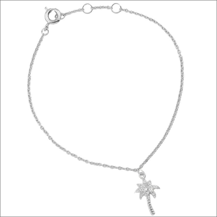Zilveren ATLITW STUDIO Armband SOUVENIR BRACELET PALM TREE - larger
