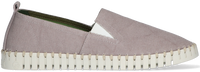 Taupe SLOWWALK Instappers BONES MEN  - medium