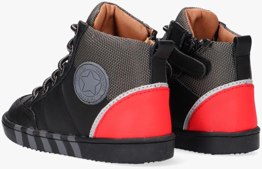 Zwarte TON & TON Hoge sneaker BRAGE  - larger