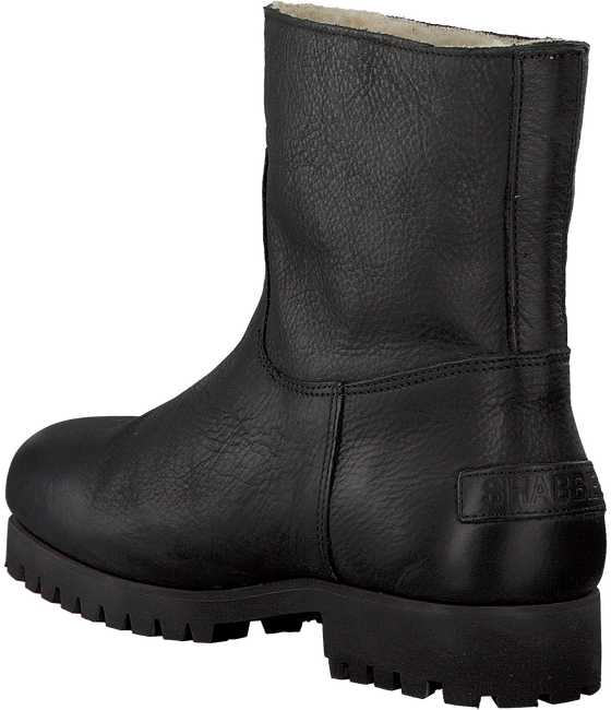 Zwarte SHABBIES Enkelboots 181020072  - large