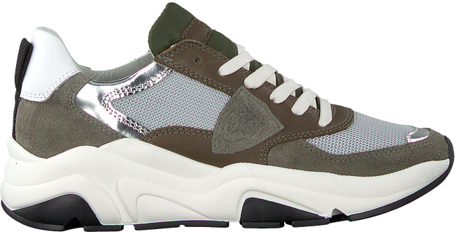 Zilveren PHILIPPE MODEL Lage sneakers EZE L JUNIOR  - large