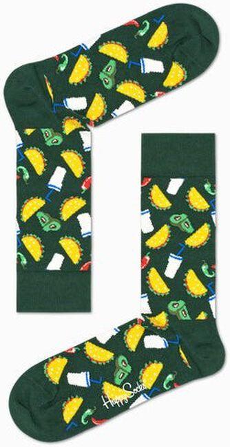 Groene HAPPY SOCKS Sokken TACO  - large