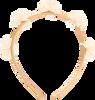 Gouden LE BIG Haarband ROSANNE HEADBAND  - small