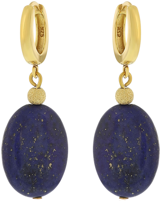 Blauwe JEWELLERY BY SOPHIE Oorbellen EARRINGS ROYAL - large