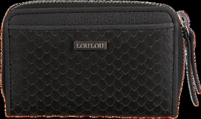 Zwarte LOULOU ESSENTIELS Portemonnee SLB14XS SCALES - large