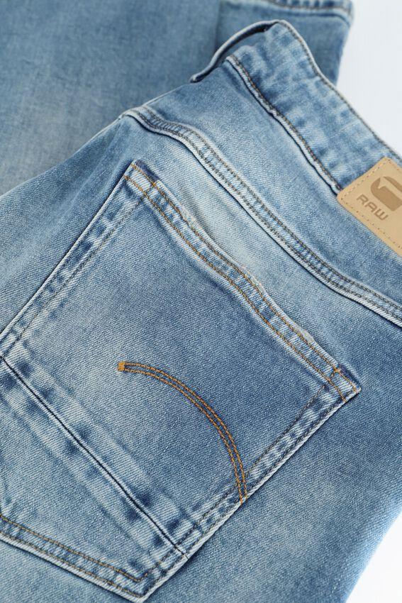 Lichtblauwe G-STAR RAW Mom jeans C052 - ELTO PURE STRETCH DENIM  - larger