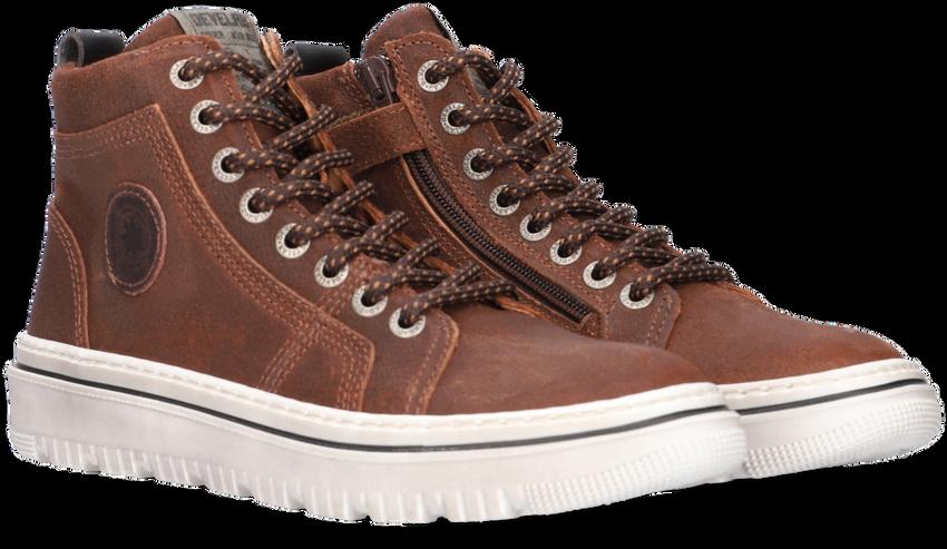 Cognac DEVELAB Hoge sneaker 41981  - larger