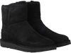 Zwarte UGG Vachtlaarzen ABREE MINI  - small