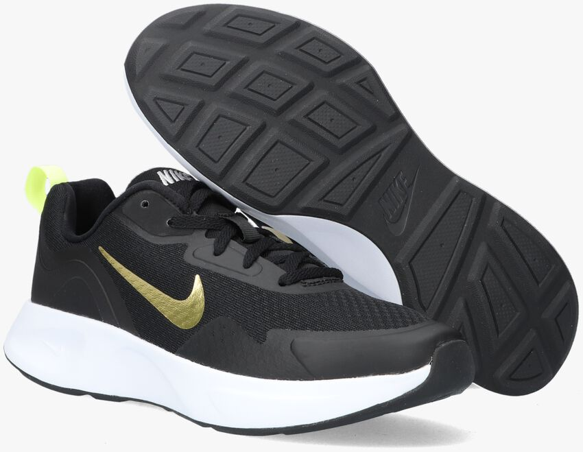 Zwarte NIKE Lage sneakers WEARALLDAYT  - larger