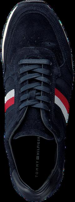 Blauwe TOMMY HILFIGER Sneakers LUXERY SUEDE RUNNER  - large