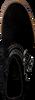 Zwarte CLIC! Enkellaarsjes 8649  - small
