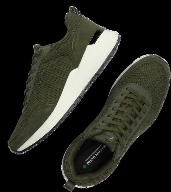 Groene BJORN BORG Lage sneakers R1900 KNT M  - large