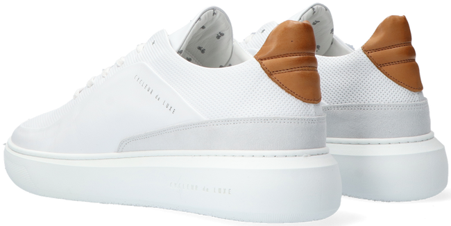 Witte CYCLEUR DE LUXE Lage sneakers GREENLAND - large