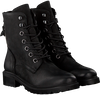 Zwarte OMODA Veterboots LALA LACE BOOT - small