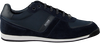 Blauwe BOSS Lage sneakers GLAZE LOWP  - small