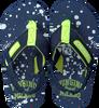 blauwe VINGINO Slippers JAX ENFANTS  - small